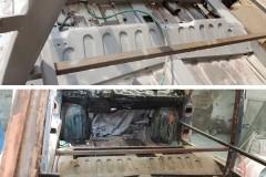 pískování automobilu tatra 603