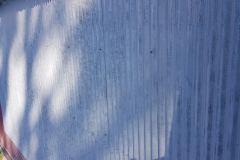 Opískování plechové střechy
